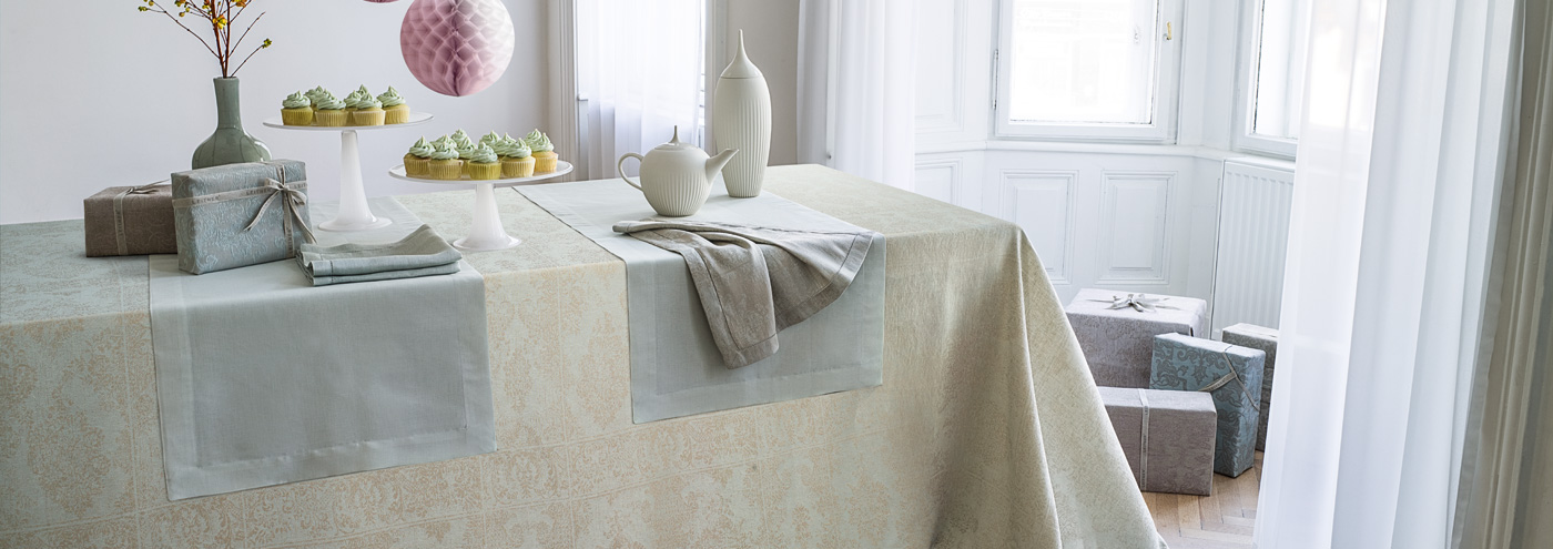 celebrate with LEITNER quality linen